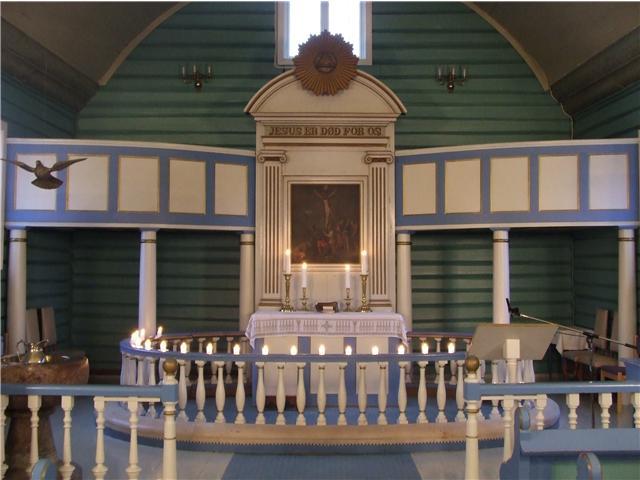 Alter Sannidal kirke