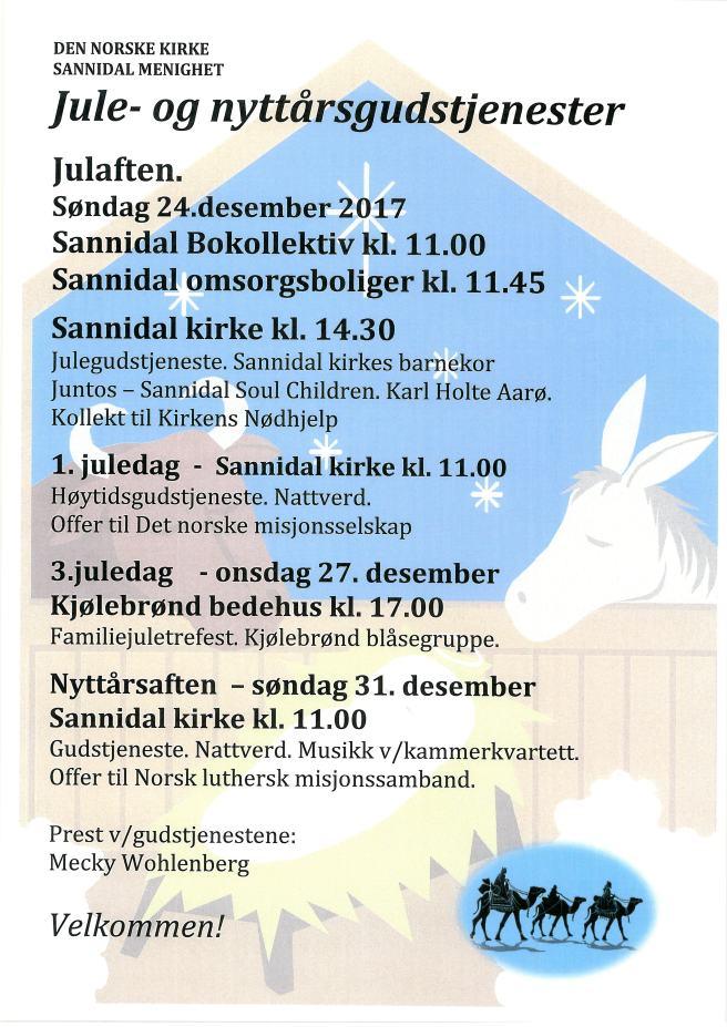 Plakat Sannidal jul til FB